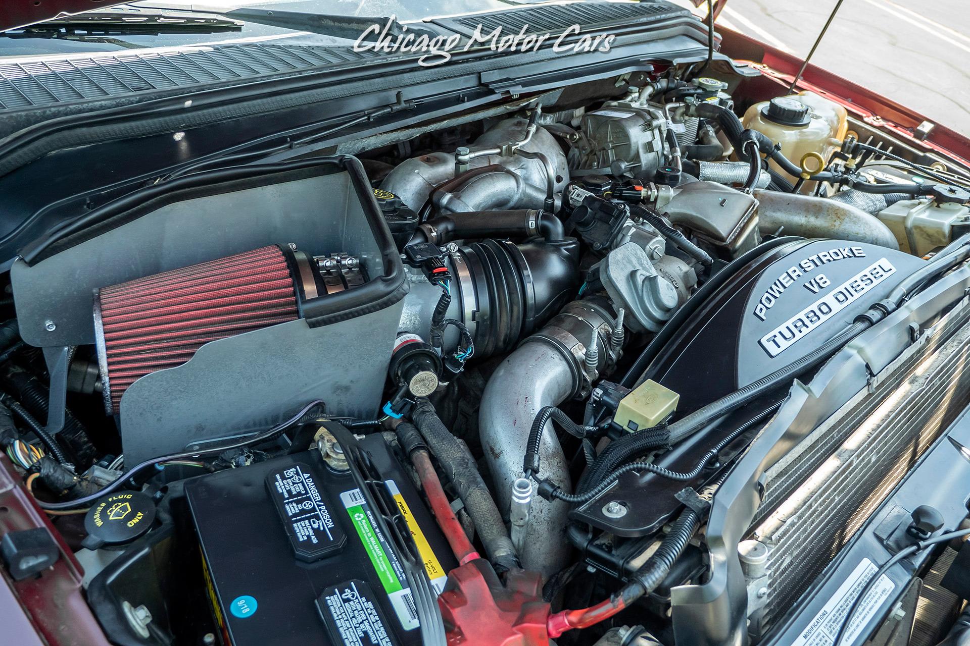 2008 Ford Diesel Engine