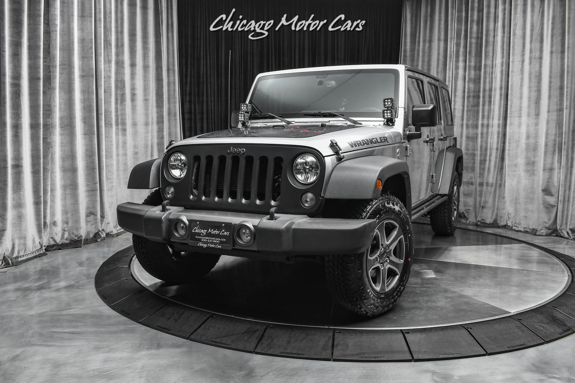 Used-2016-Jeep-Wrangler-Unlimited-Black-Bear-4WD-SERVICED-LIMITED-EDITION-LOADED-New-Wheels-and-Tires