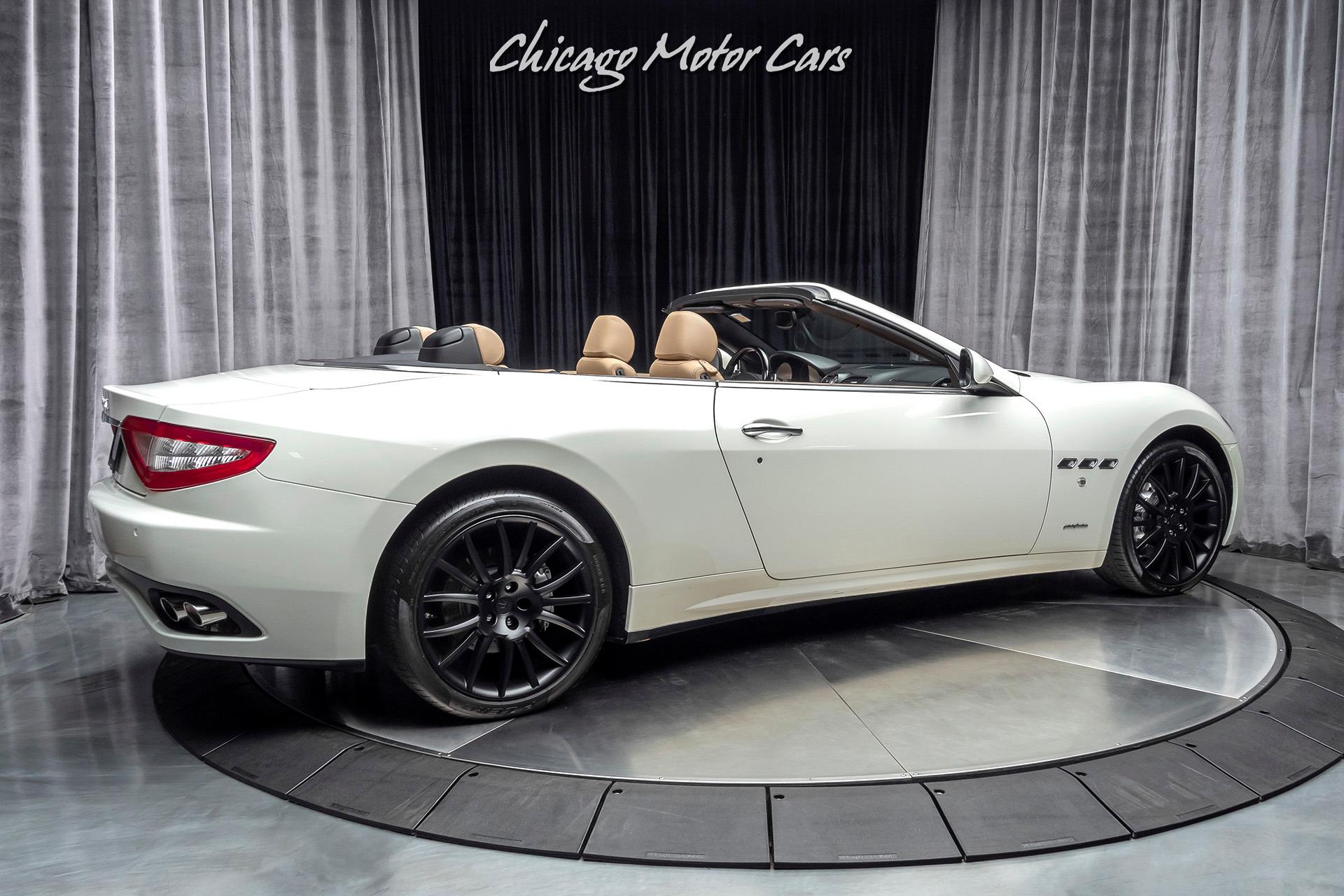 Used-2013-Maserati-GranTurismo-Convertible-16K-MILES-20-INCH-TRIDENT-WHEELS-GLOSS-BLACK-TRIM