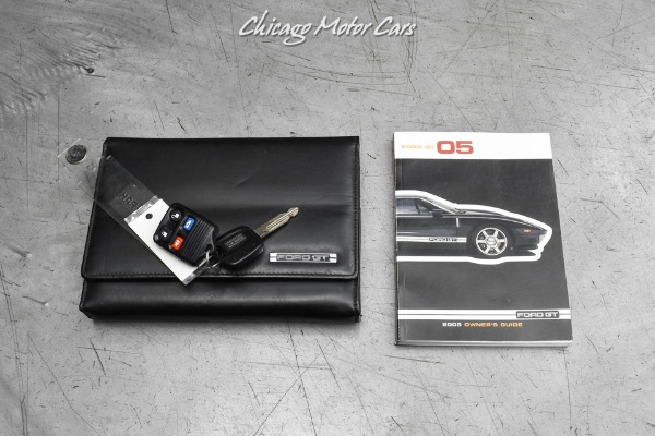 Used-2005-Ford-GT-Coupe-700HP-Black-HREs-WHIPPLE-Supercharger-All-Stock-Parts-Included
