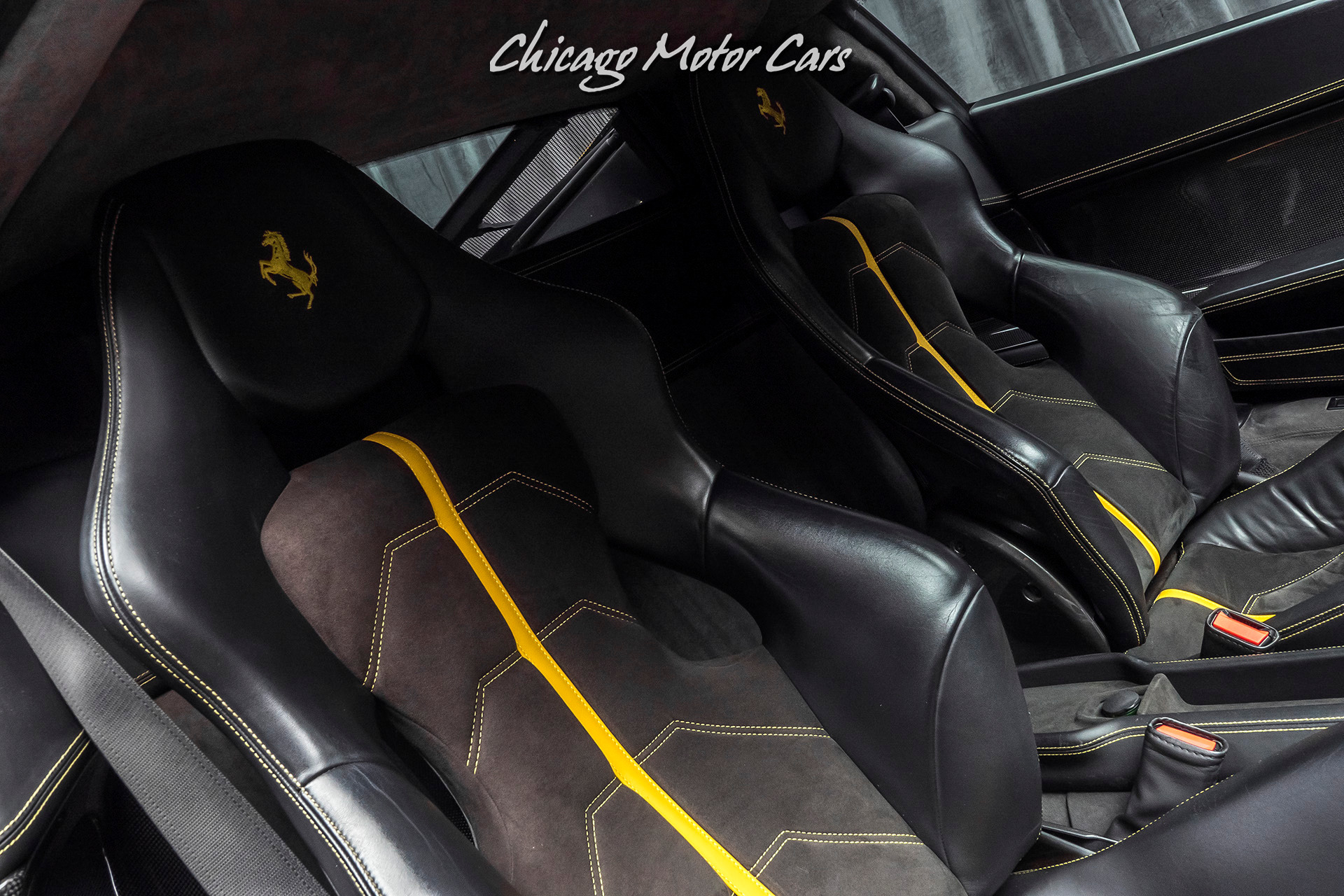 Used-2010-Ferrari-458-Italia-Coupe-Carbon-Fiber-Optioned-Extremely-Well