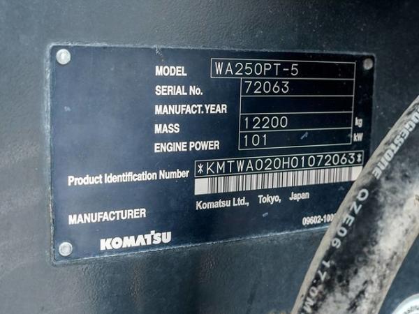 Used-2006-Komatsu-WA250PT5-Front-End-Loader