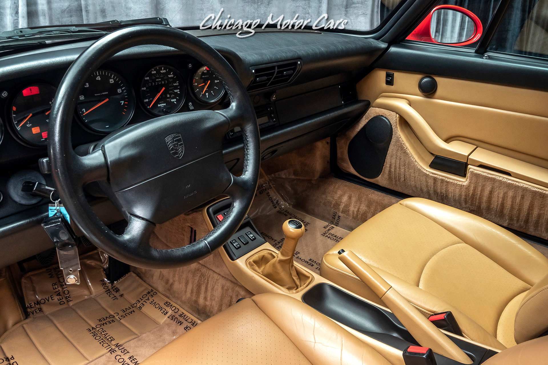 Used-1996-Porsche-911-Carrera-Coupe-C2-1-Owner-Only-32k-Miles-Collector-Quality-6-Speed-Manual