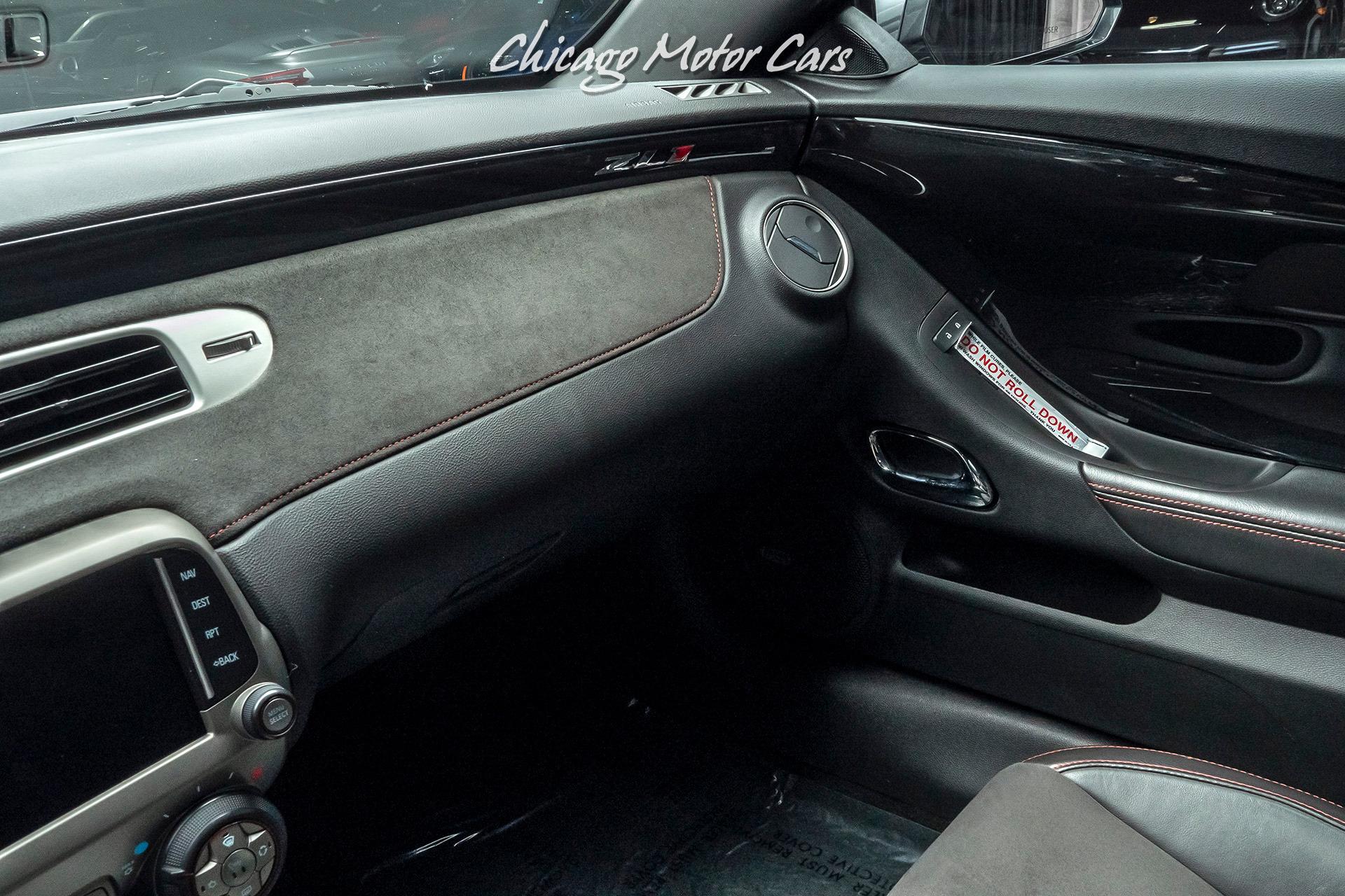 Used-2013-Chevrolet-Camaro-ZL1-MSRP-61200UPGRADES