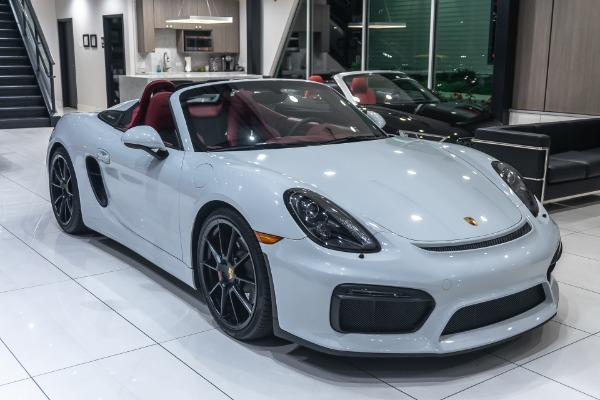Used-2016-Porsche-Boxster-Spyder-RARE-Only-4900-Miles-Manual-Transmission-375HP