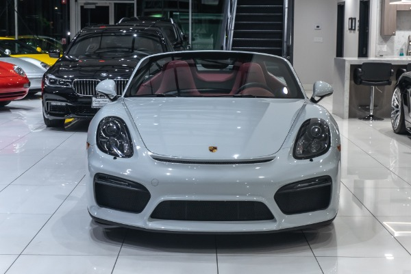 Used-2016-Porsche-Boxster-Spyder-RARE-Only-4900-Miles-Manual-Transmission