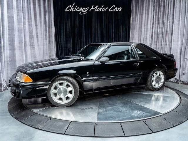 Used 1993 Ford Mustang Cobra Svt Coupe 32k
