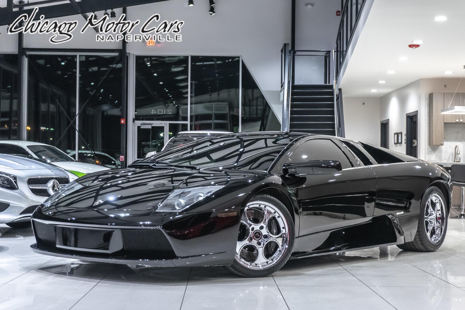 Used 2004 Lamborghini Murcielago Coupe 6 Speed Manual For Sale