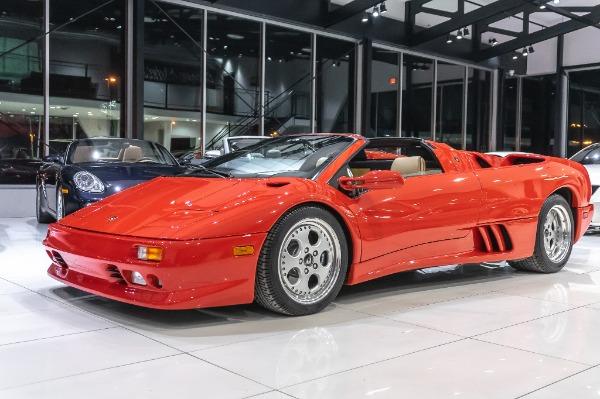 Used-1997-Lamborghini-Diablo-VT-Roadster-1260-MILES