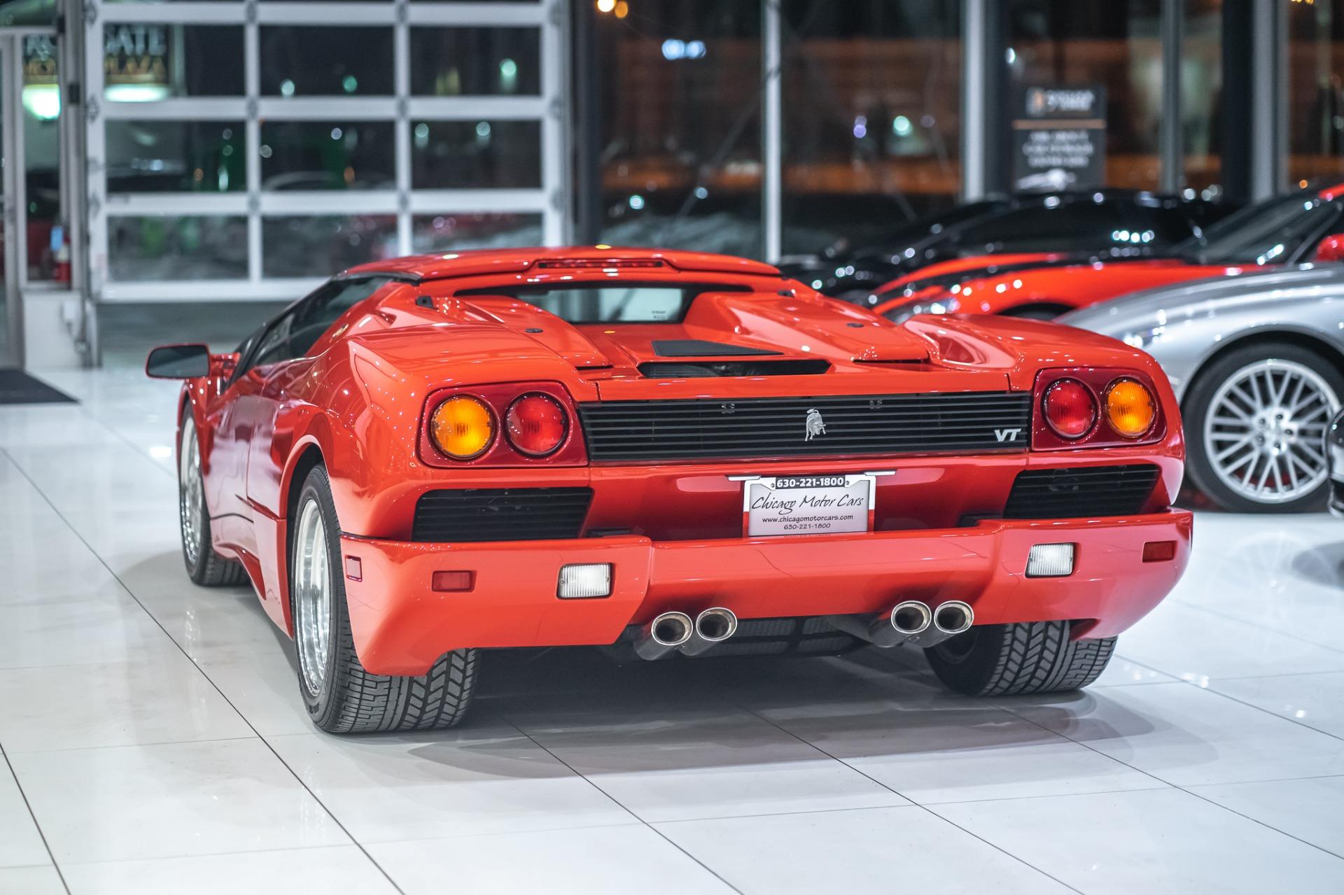 Used 1997 Lamborghini Diablo Vt Roadster 1 260 Miles For Sale