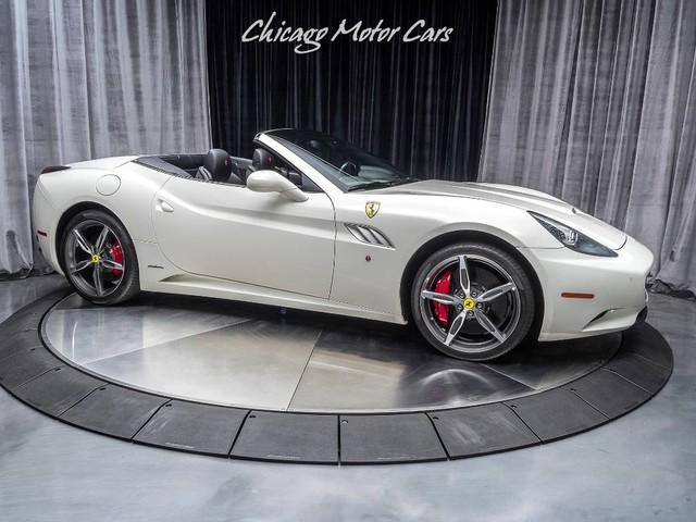 Used 2014 Ferrari California Convertible 20 Diamond Forged Wheels
