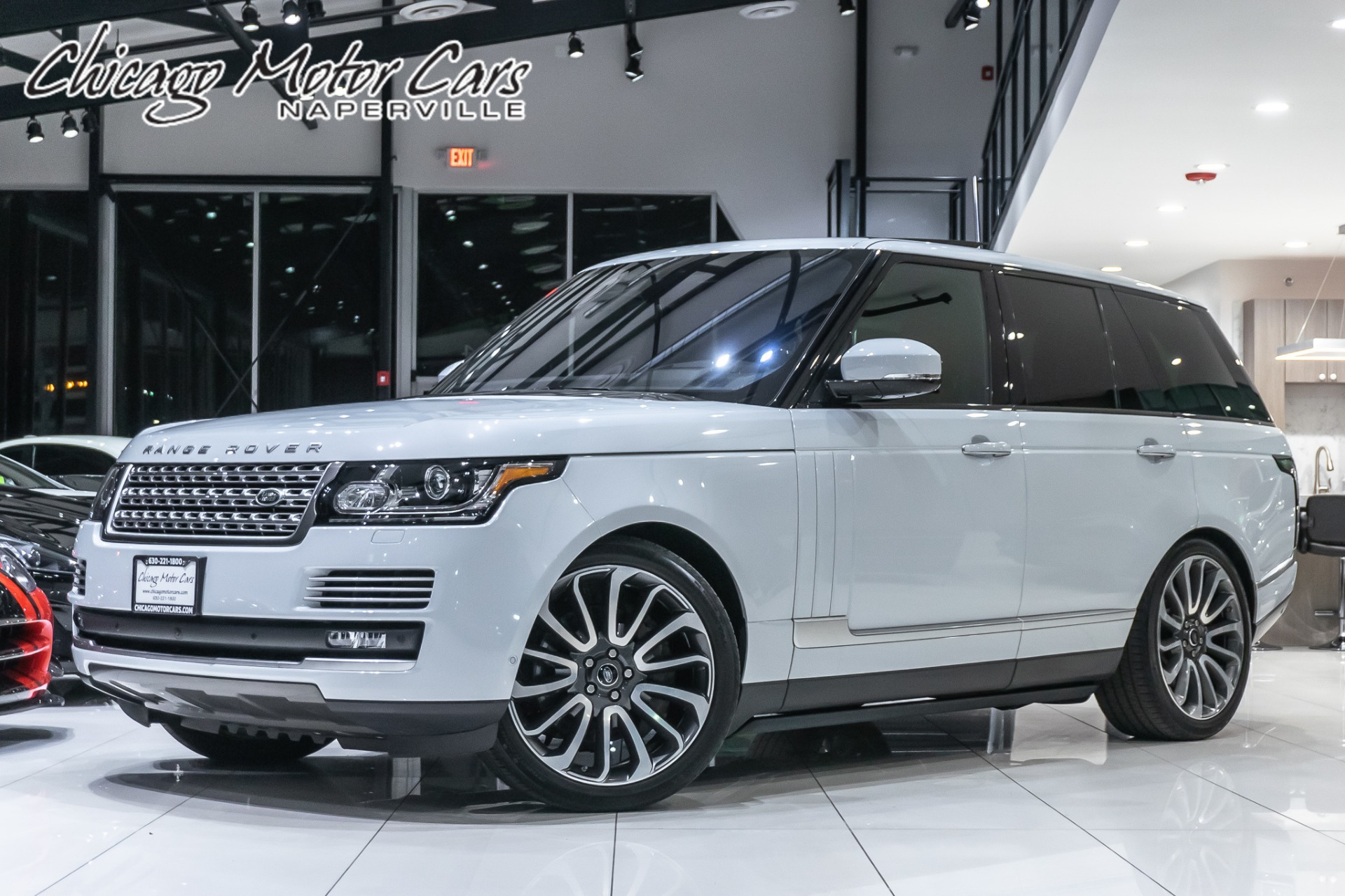 Range Rover Autobiography >> Used 2017 Land Rover Range Rover Autobiography Suv Msrp
