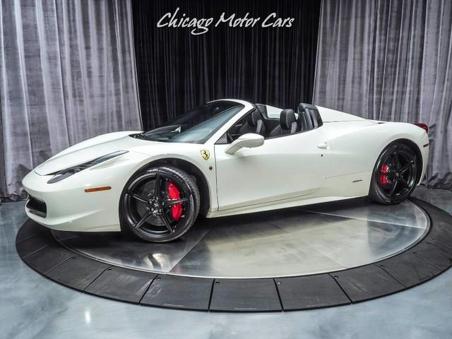 Used 2013 Ferrari 458 Spider Convertible For Sale Special