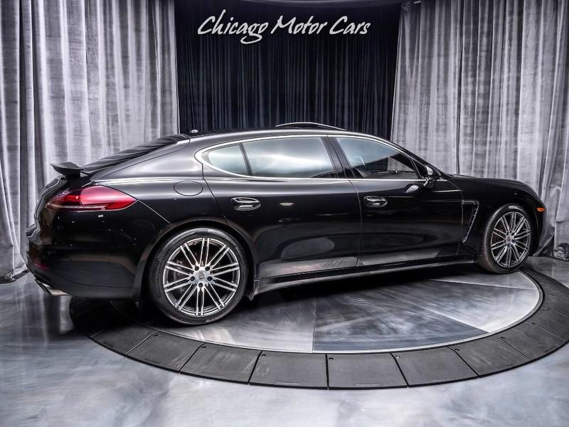 Used 2014 Porsche Panamera 4s Executive Lwb Sedan For Sale Special Pricing Chicago Motor Cars Stock 15814a