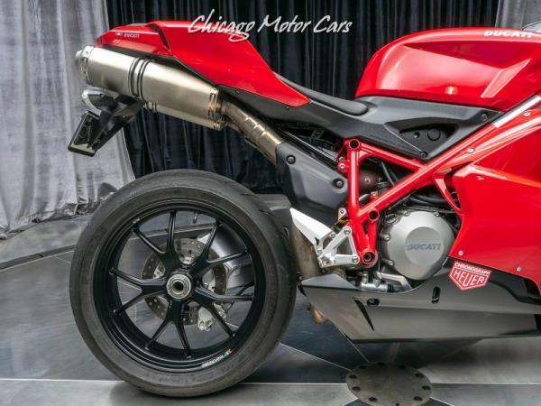 Used-2009-Ducati-848-EVO-Sportbike-ONLY-3K-MILES