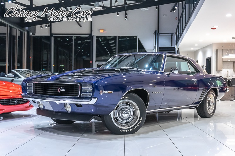 Used 1969 Chevrolet Camaro Rs Z28 Coupe 4 Speed X 33 S