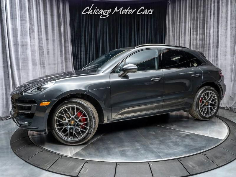 Used 2017 Porsche Macan Turbo Original Msrp 91 815 For Sale Special Pricing Chicago Motor Cars Stock 15910