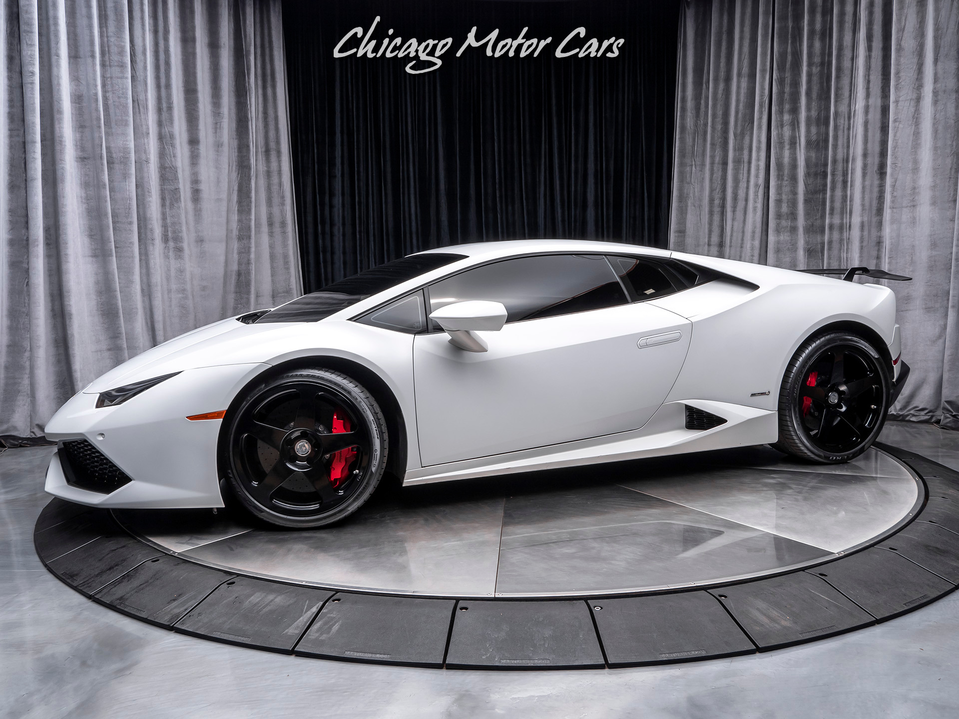 Chicago Motor Cars >> Used 2015 Lamborghini Huracan Lp610 4 Coupe Upgrades Hre