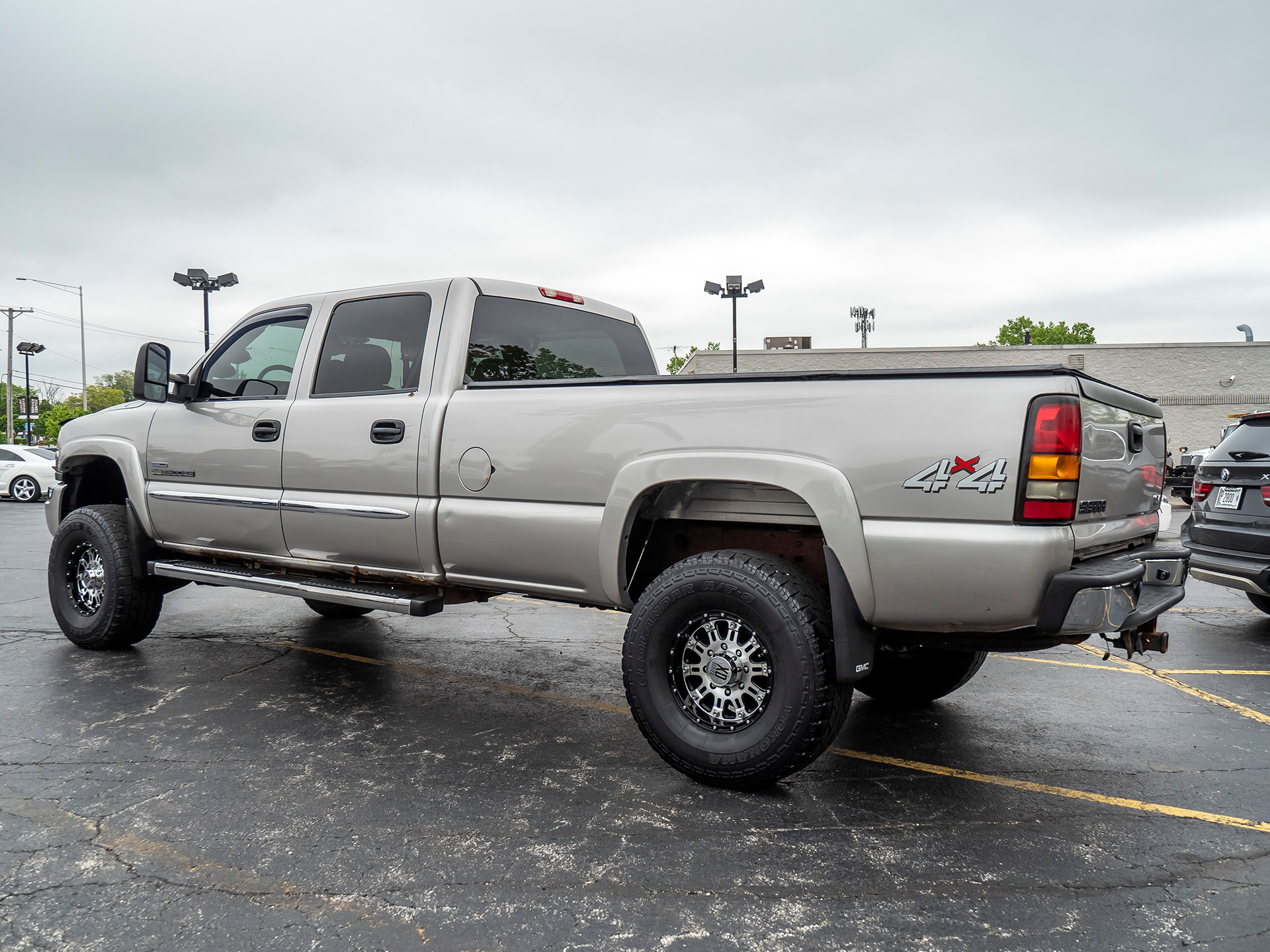 Used 2006 Gmc Sierra 2500hd Sle 4x4 Longbed For Sale Special Pricing Chicago Motor Cars Stock 15439a