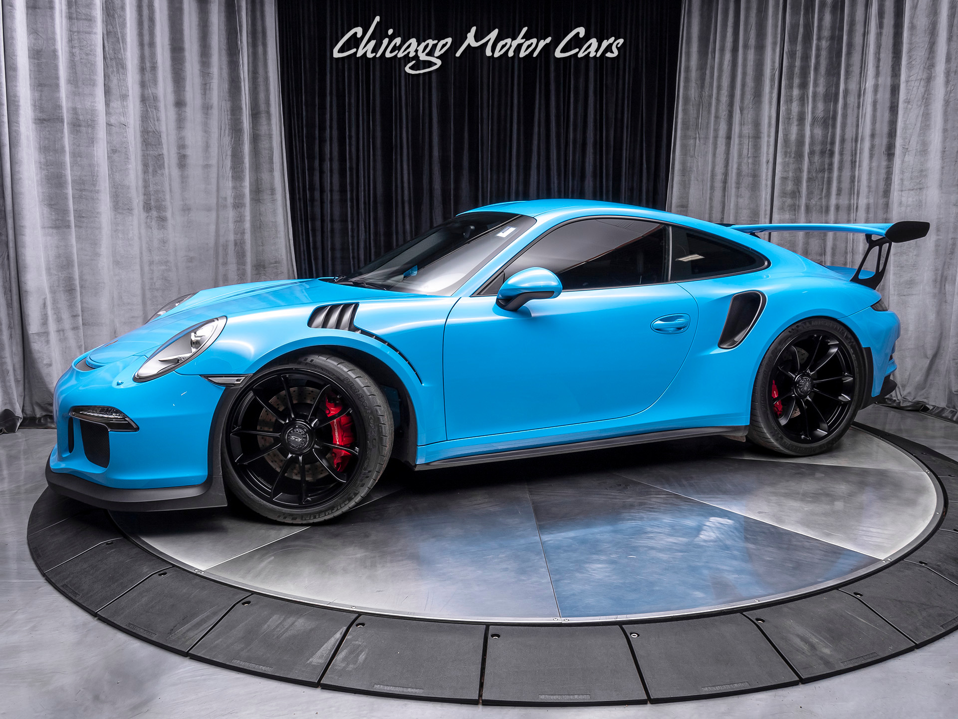 Used 2016 Porsche 911 Gt3 Rs Coupe Pts Mexico Blue For Sale Special Pricing Chicago Motor Cars Stock Gs192687