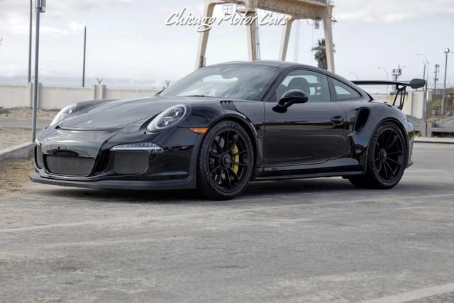 Used 2016 Porsche 911 GT3 RS PTS Black! Only 474 Miles! For