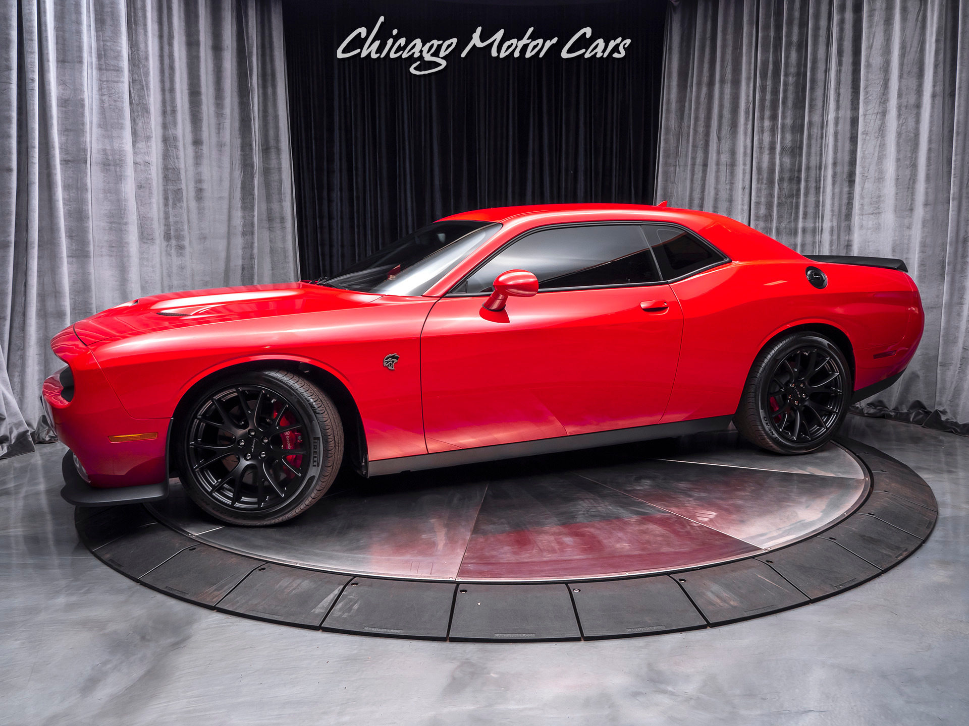 Used 2015 Dodge Challenger Srt Hellcat 6 Speed Manual For Sale Special Pricing Chicago Motor Cars Stock 15934
