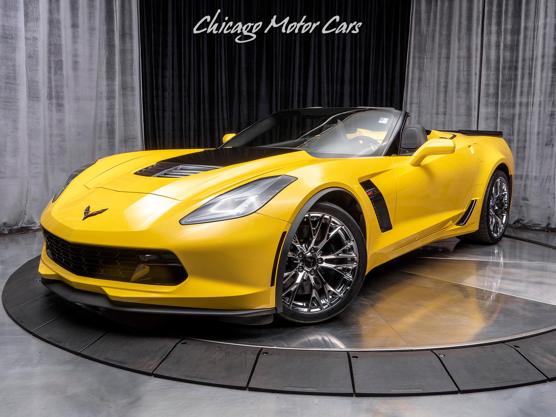 Used 2016 Chevrolet Corvette Z06 3LZ Convertible 8-SPEED