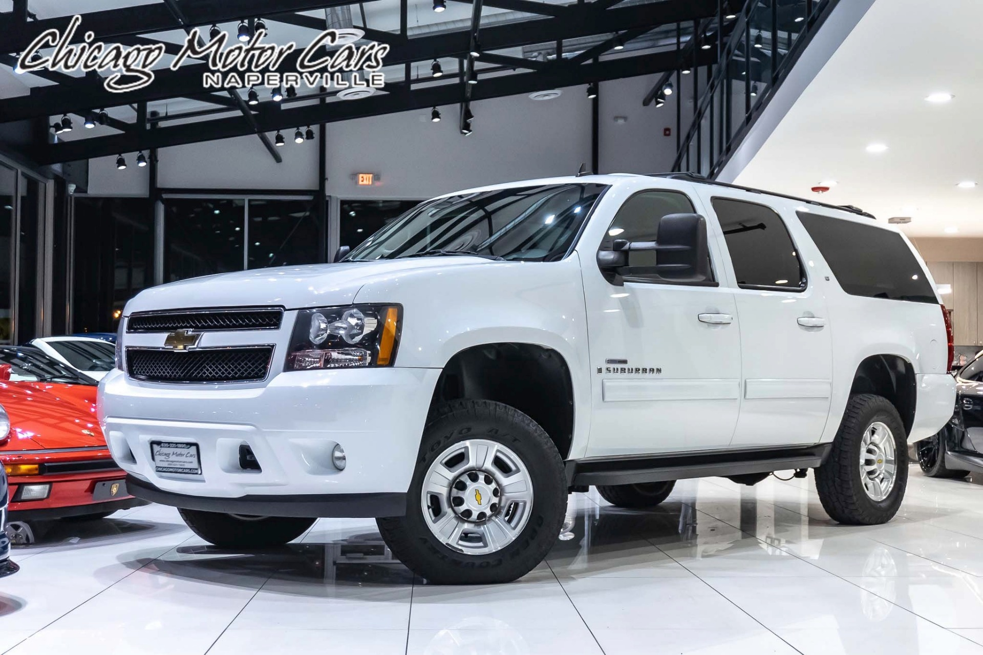 Used 2009 Chevrolet Suburban 2500 W 2lt Lmm Duramax Diesel Conversion For Sale 41 800 Chicago Motor Cars Stock 9r251208