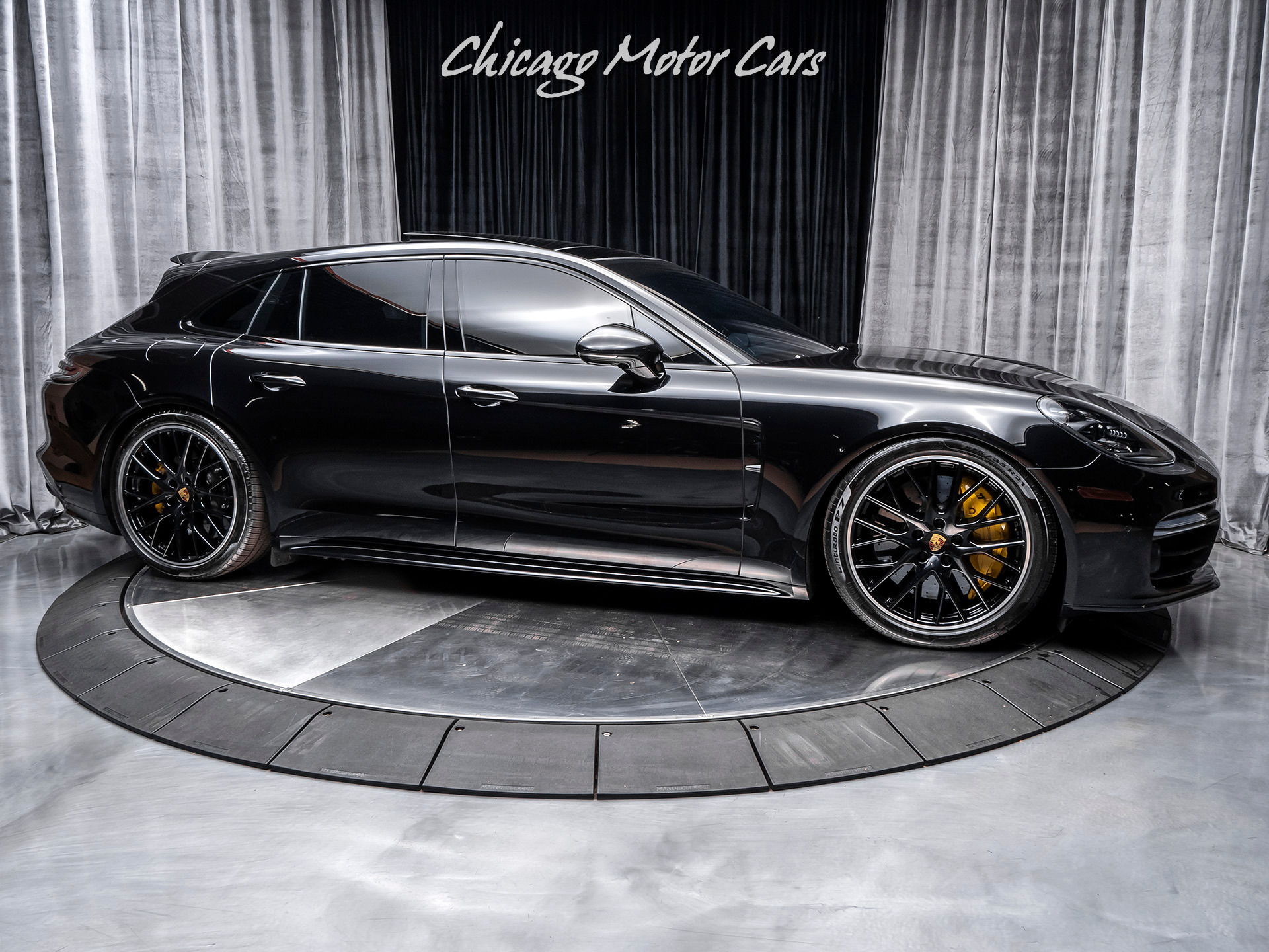 Used 2018 Porsche Panamera Turbo Sport Turismo Awd Wagon Msrp 226 280 For Sale Special Pricing Chicago Motor Cars Stock 15954