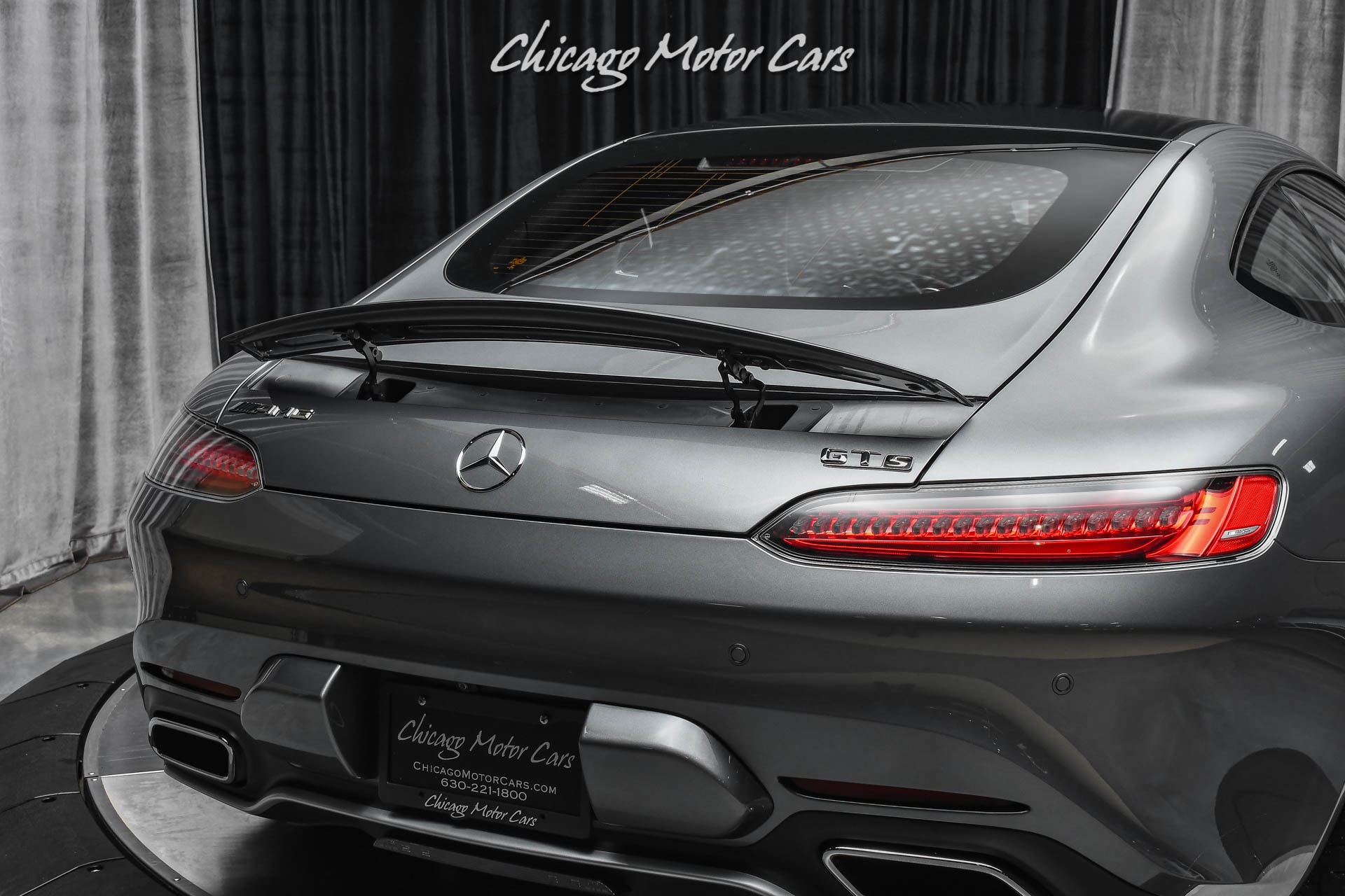 Used-2016-Mercedes-Benz-AMG-GT-S-Exclusive-Interior-Package-Panoramic-Glass-Roof-Low-Miles