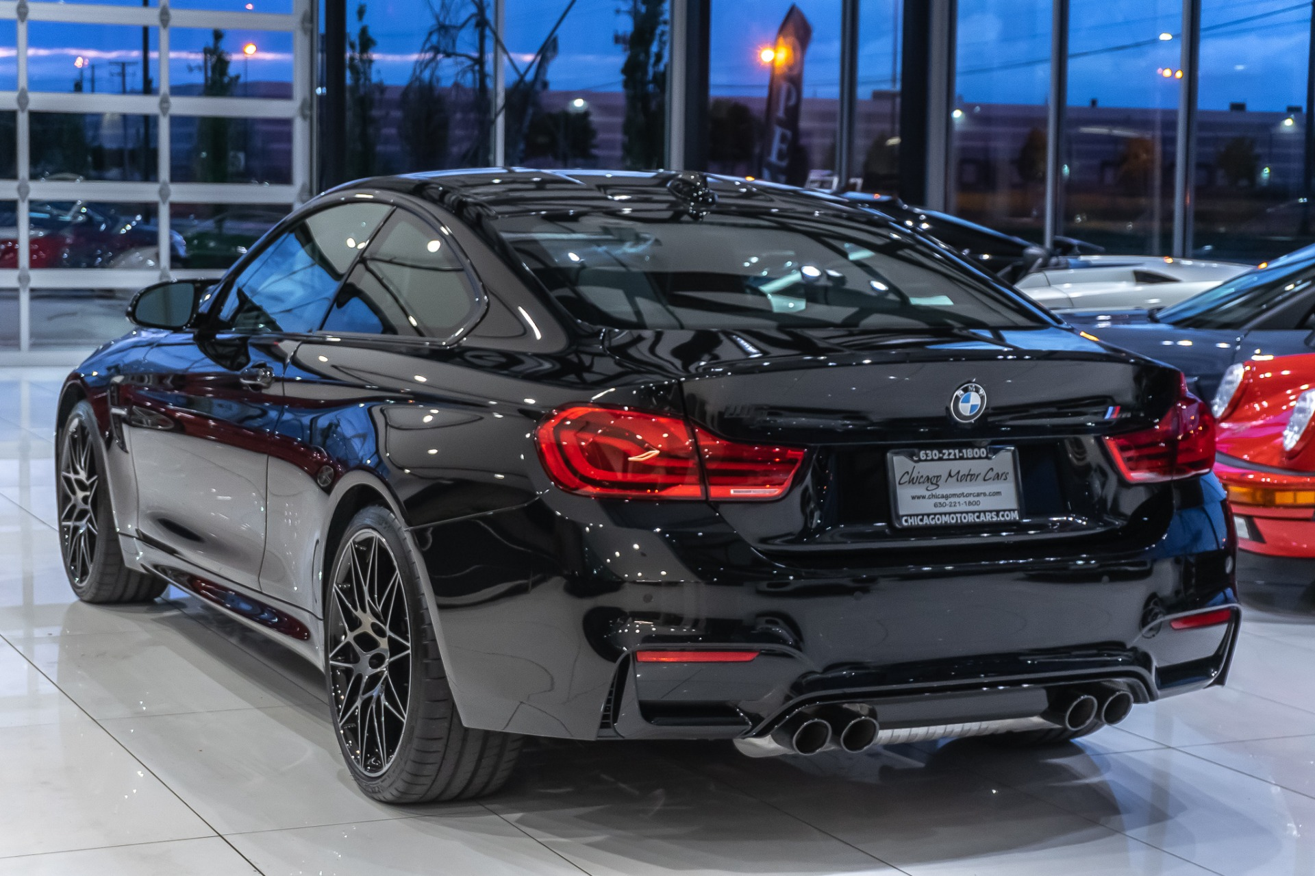 Used 2019 Bmw M4 Competition Coupe Only 391 Miles Manual Transmission For Sale Special Pricing Chicago Motor Cars Stock 15959