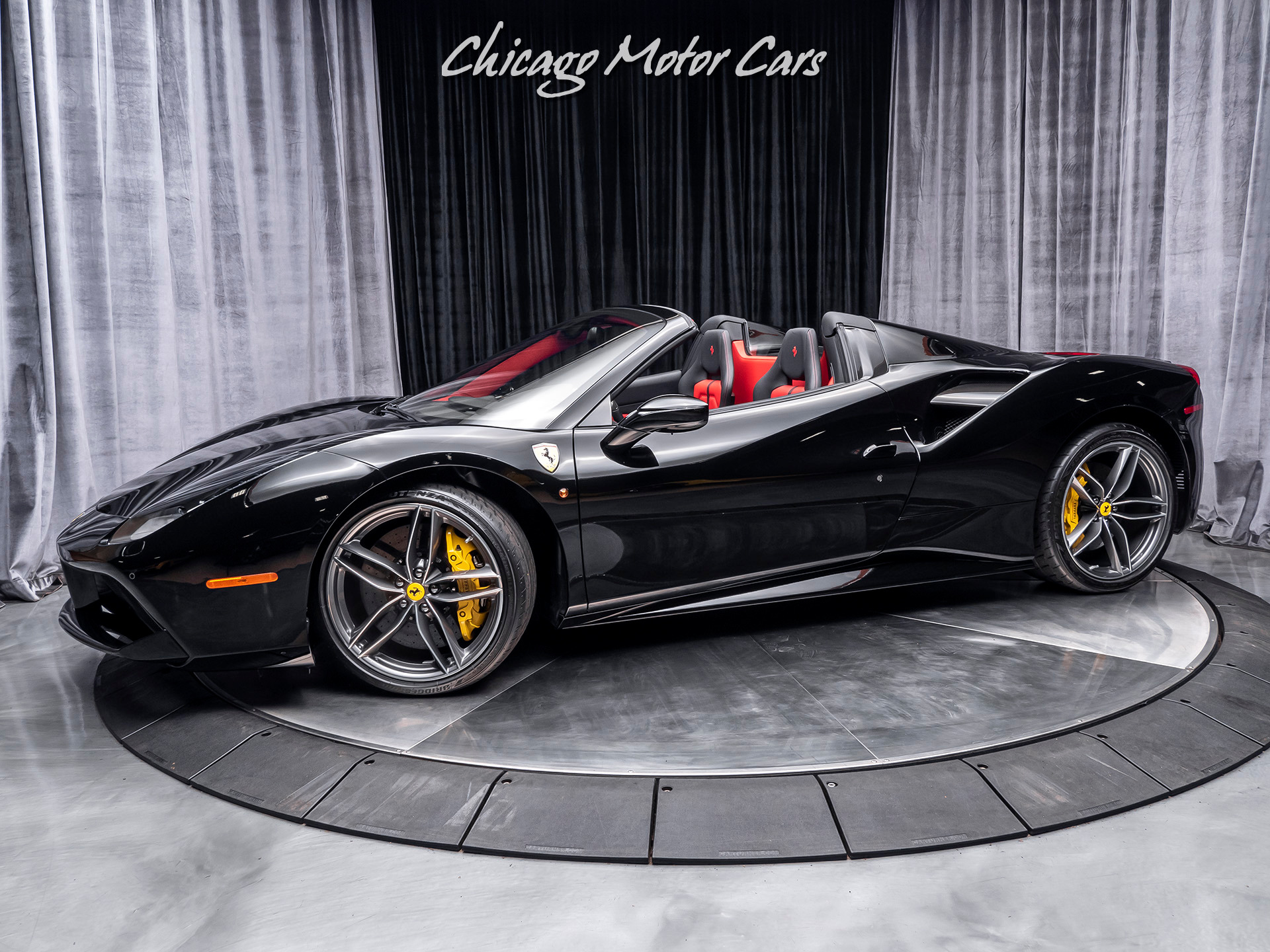 Used 2018 Ferrari 488 Spider Convertible Only 1600 Miles