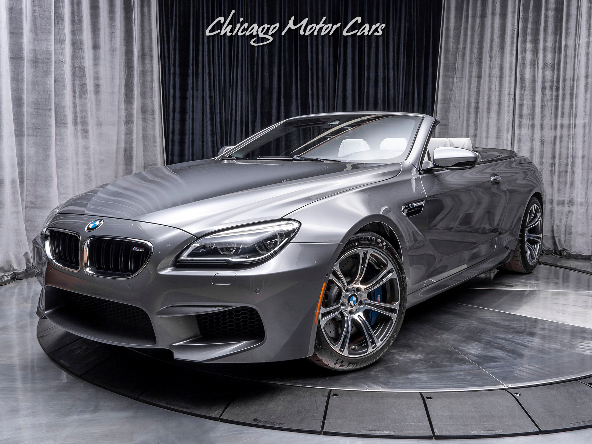 Used 2016 Bmw M6 Convertible Executive Package For Sale Special Pricing Chicago Motor Cars Stock 16006