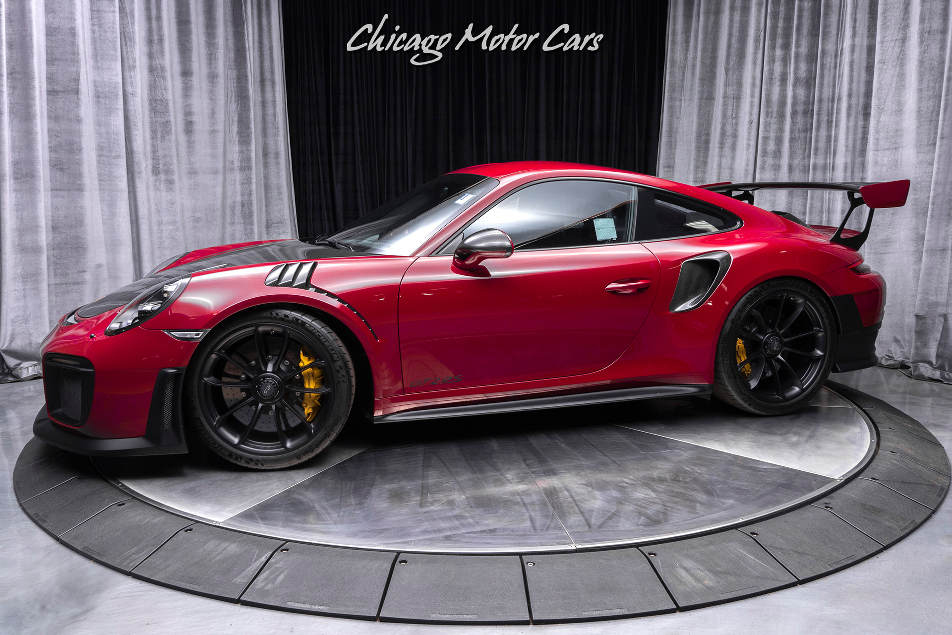 Used 2018 Porsche 911 Gt2 Rs Rare Pts Color Carbon Fiber