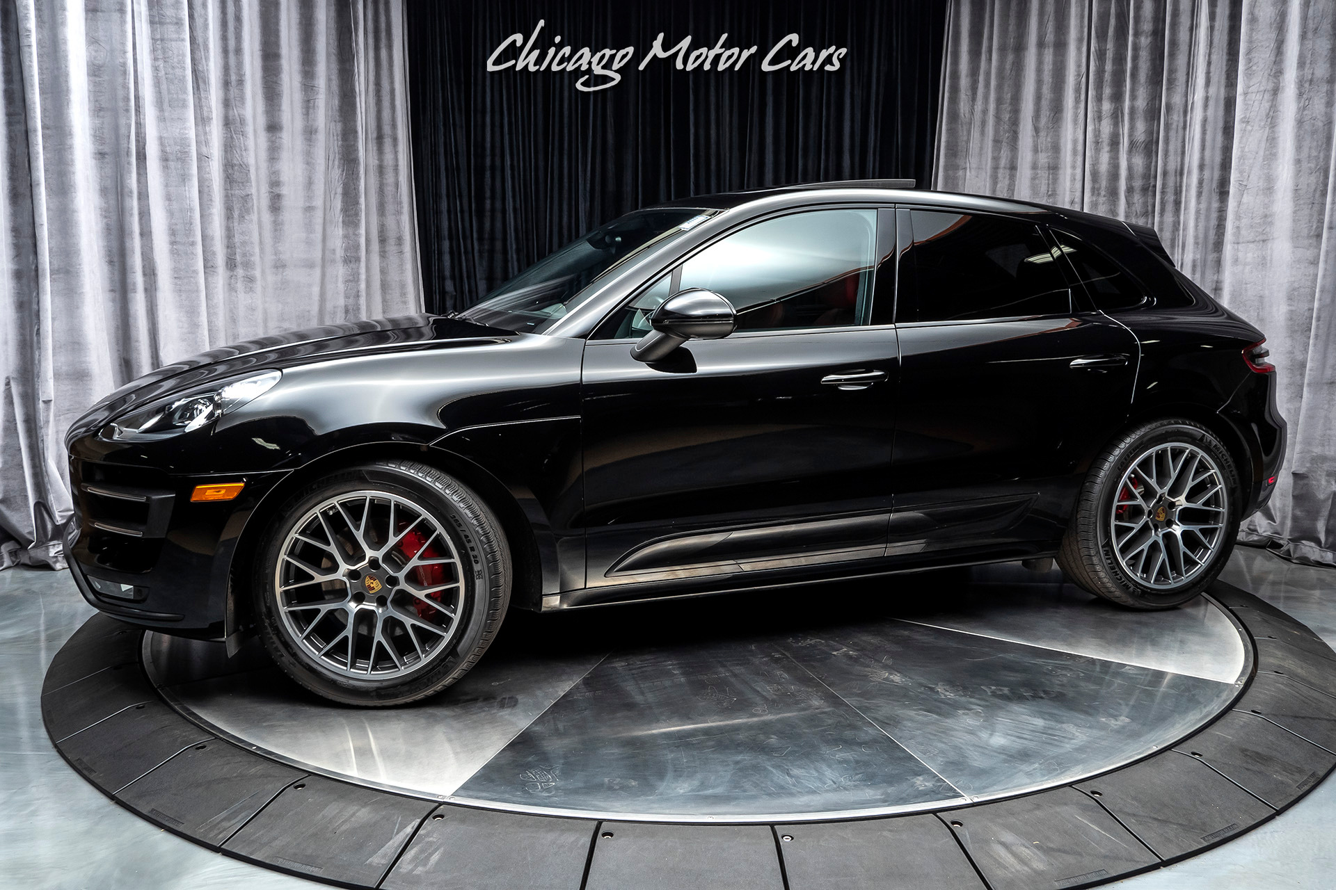 Used 2017 Porsche Macan Turbo For Sale Special Pricing Chicago Motor Cars Stock 15352b