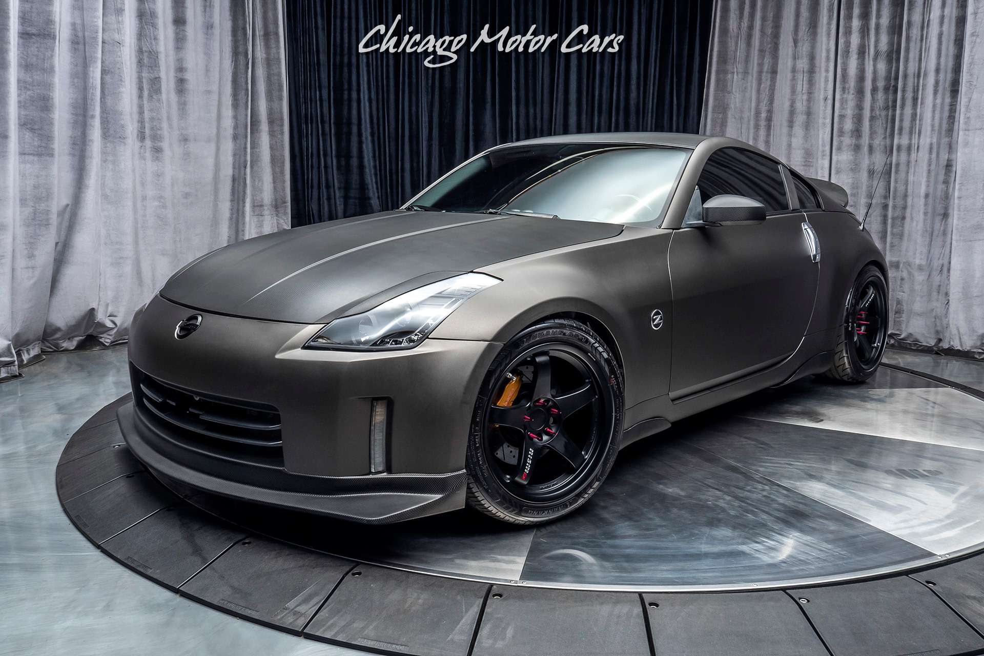 350z nissan 2006 track coupe upgrades loaded cars