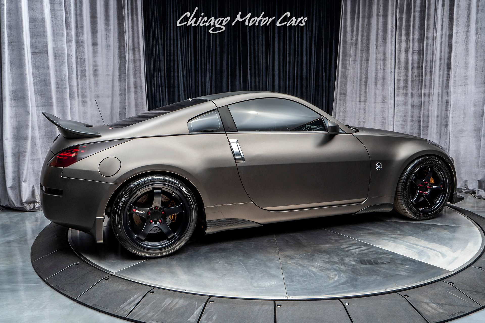 350z nissan 2006 coupe track upgrades loaded cars