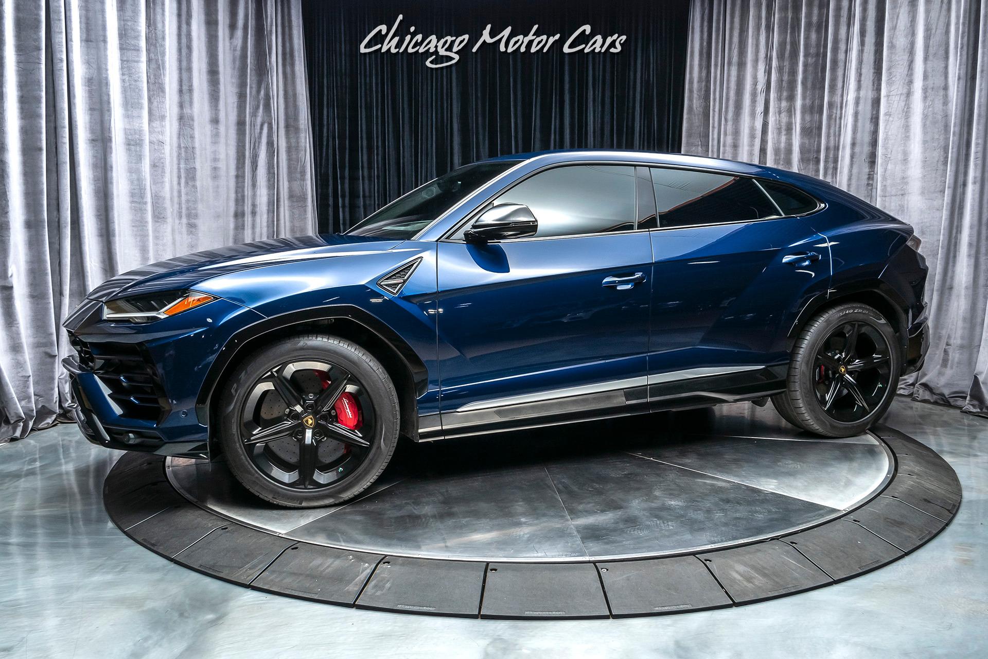 Used 2019 Lamborghini Urus SUV MSRP $241K+ REAR SEAT