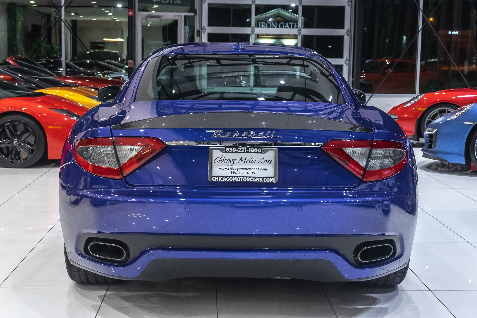 Used 2017 Maserati GranTurismo Sport Coupe MSRP $149K+ For Sale (Special Pricing)   Chicago ...