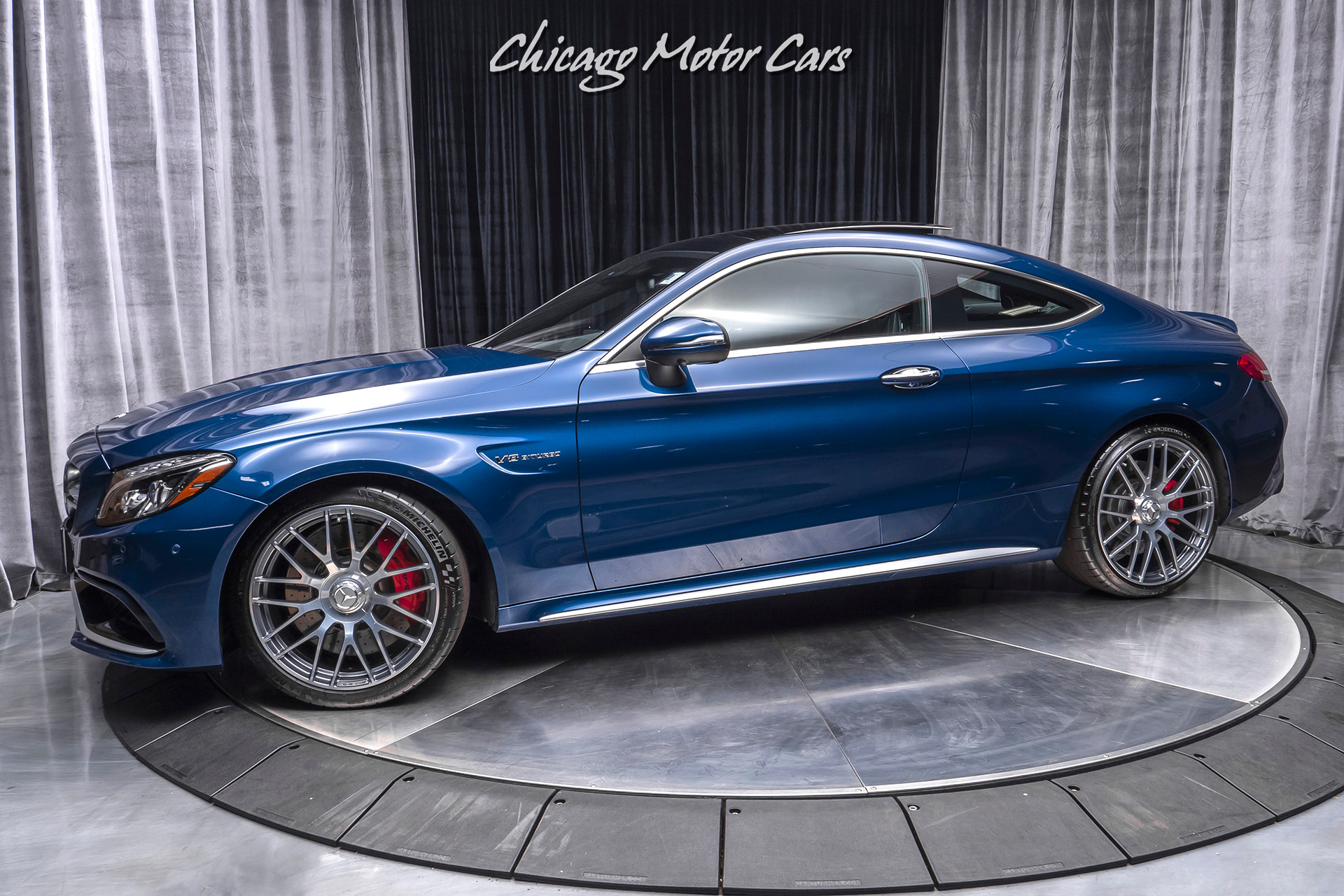 Used 2017 Mercedes Benz C63 S Amg Coupe Msrp 87 480 Premium Package 3 For Sale Special Pricing Chicago Motor Cars Stock 16135
