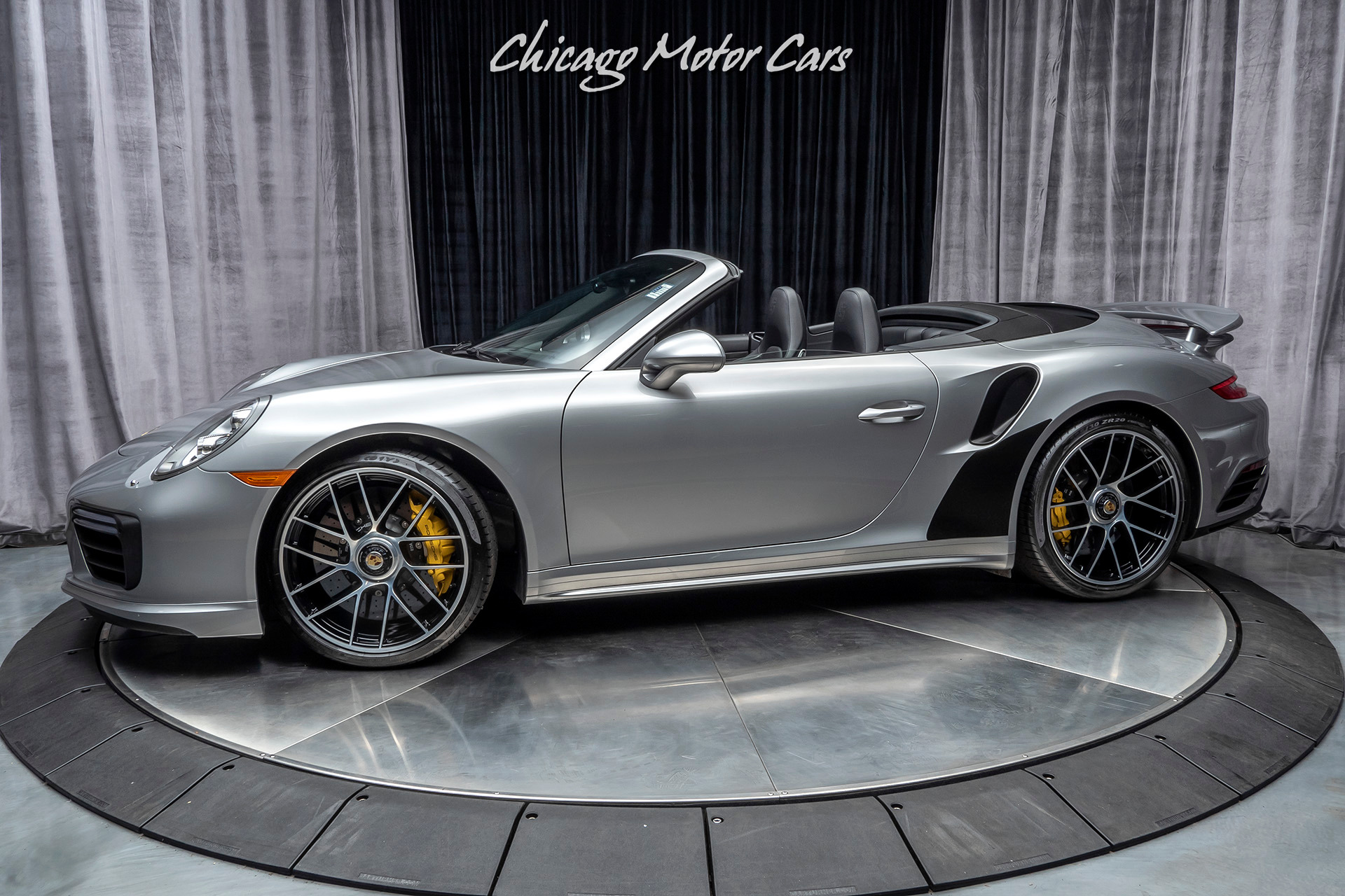 Used 2017 Porsche 911 Turbo S Cabriolet Convertible Msrp 208 185 For Sale Special Pricing Chicago Motor Cars Stock 16153