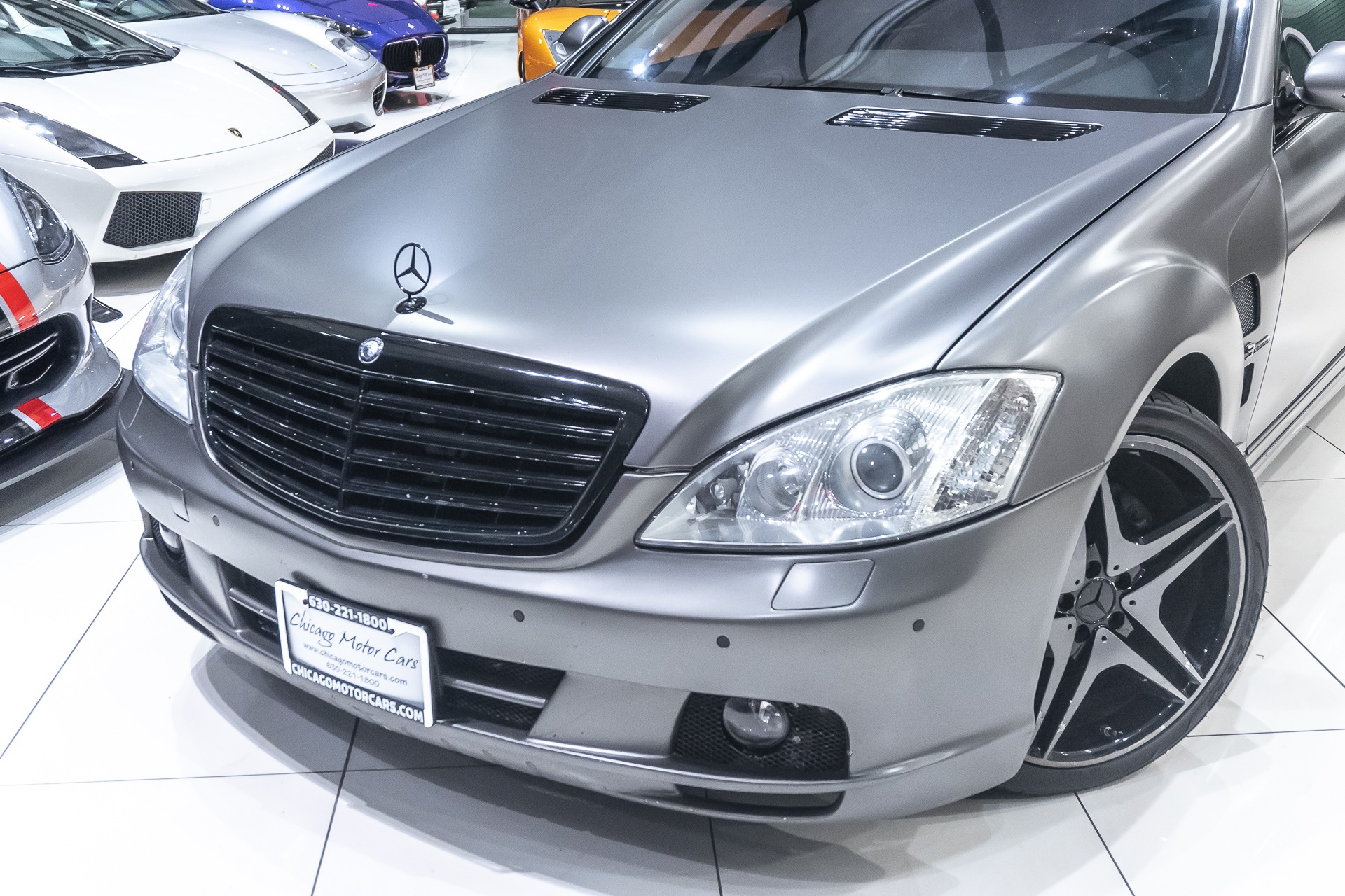 2007 S550 For Sale >> Used 2007 Mercedes Benz S550 Sedan Lorinser Package For