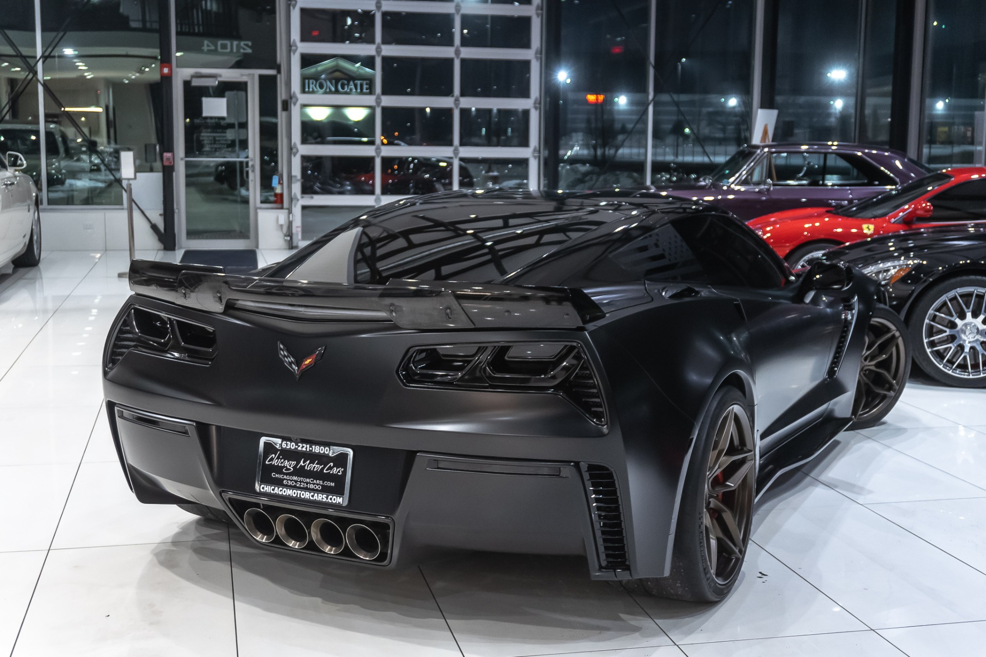 Used-2016-Chevrolet-Corvette-Z06-3LZ-Z07-Package-Coupe-PROCHARGED-864-WHP