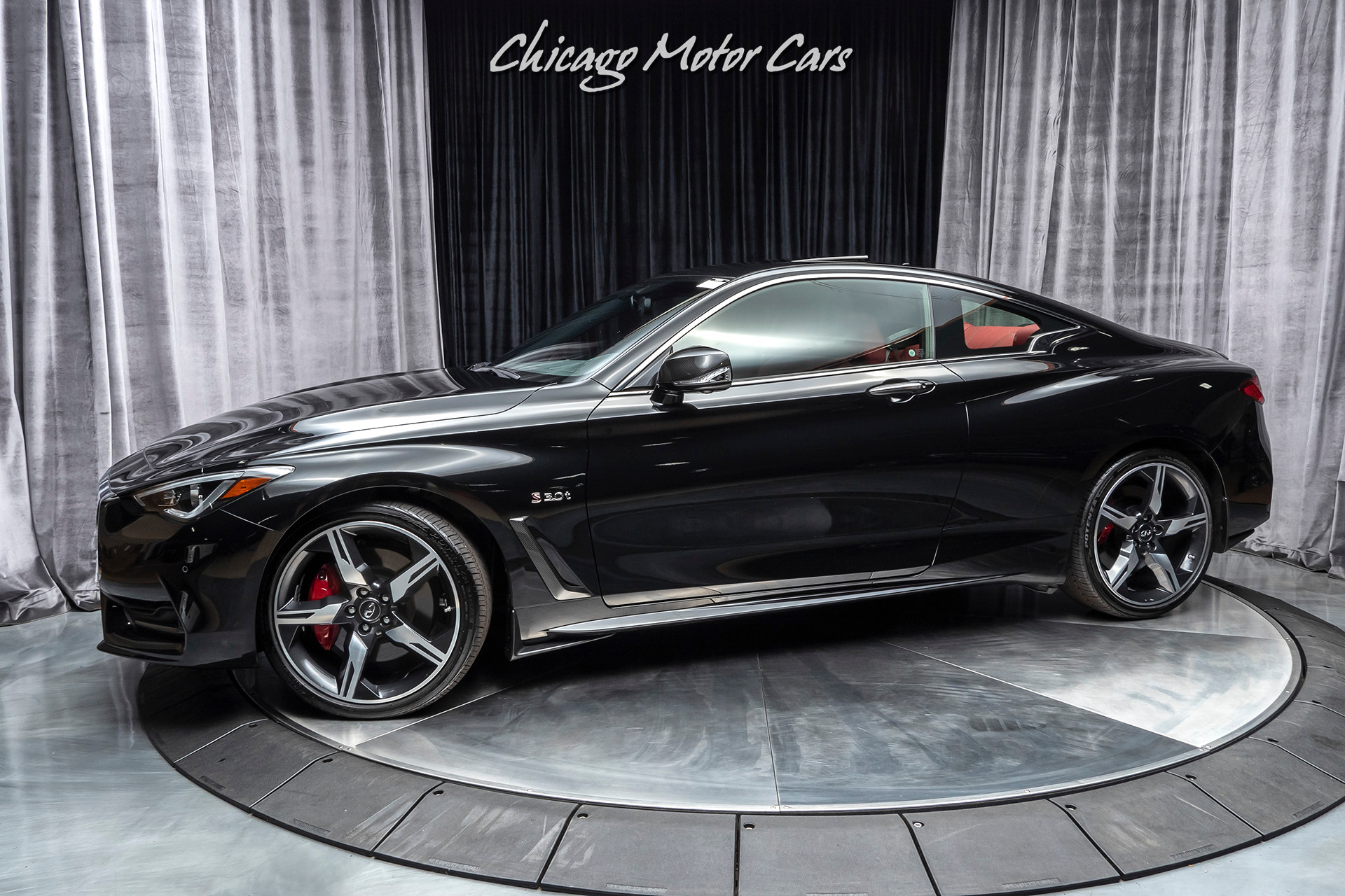 Used 2019 Infiniti Q60 Red Sport 400 Awd Coupe Msrp 69 200