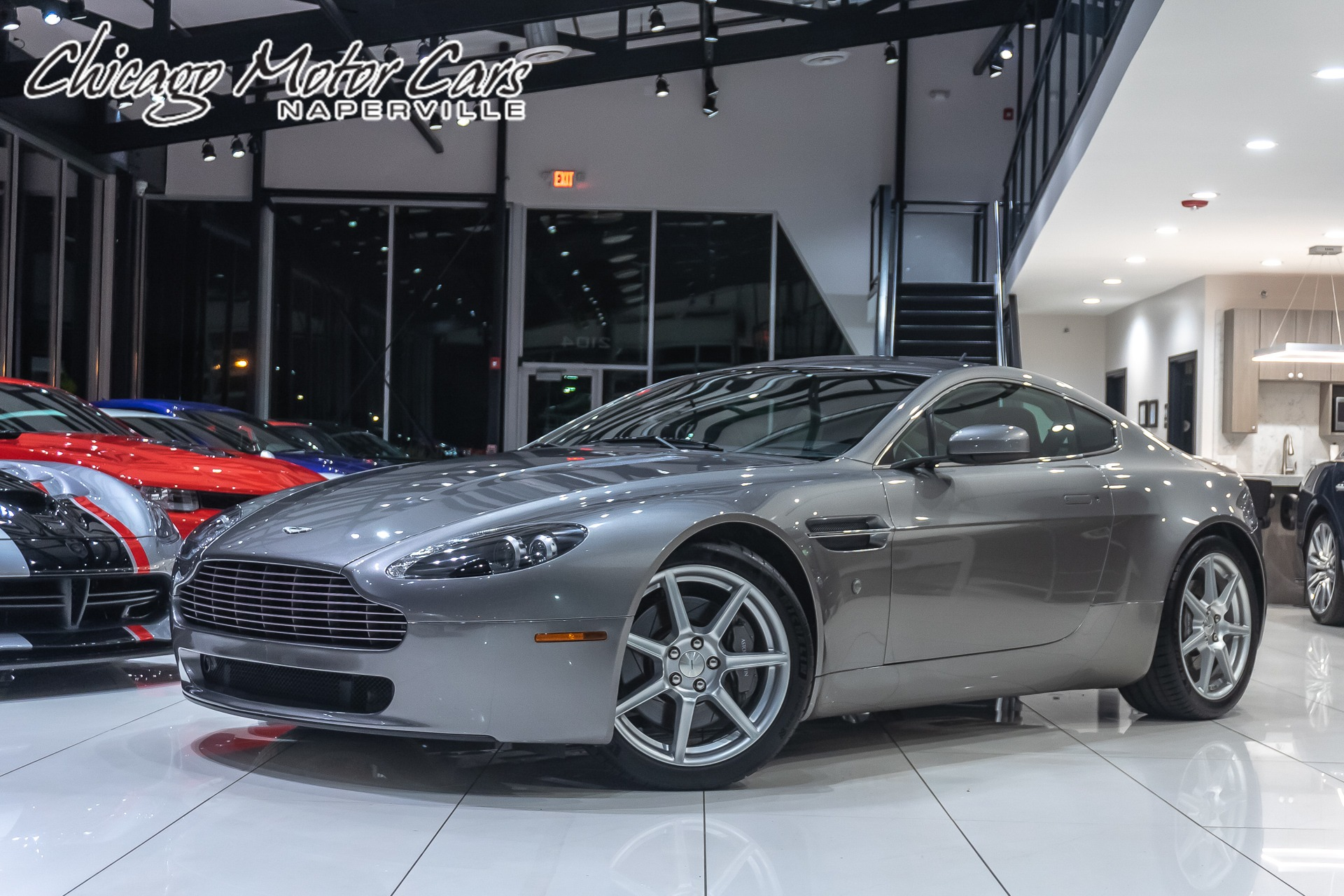 Used 2006 Aston Martin Vantage V8 Coupe 6 Speed Manual For Sale Special Pricing Chicago Motor Cars Stock 16137b