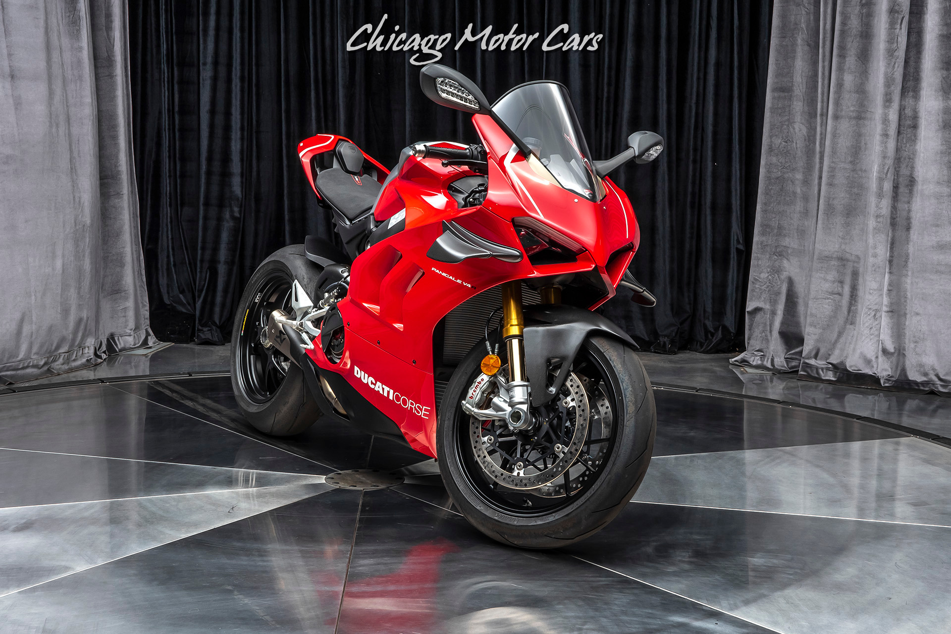 Used 2019 Ducati Panigale V4 R Motorcycle WITH RACING KIT