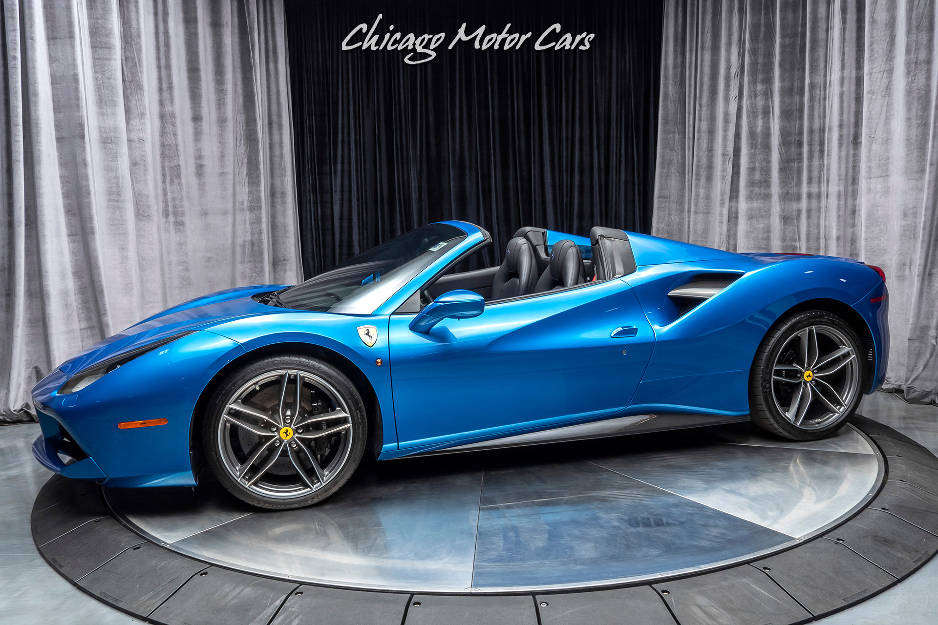 2017 Ferrari 488 Spider >> Used 2017 Ferrari 488 Spider Convertible Loaded With