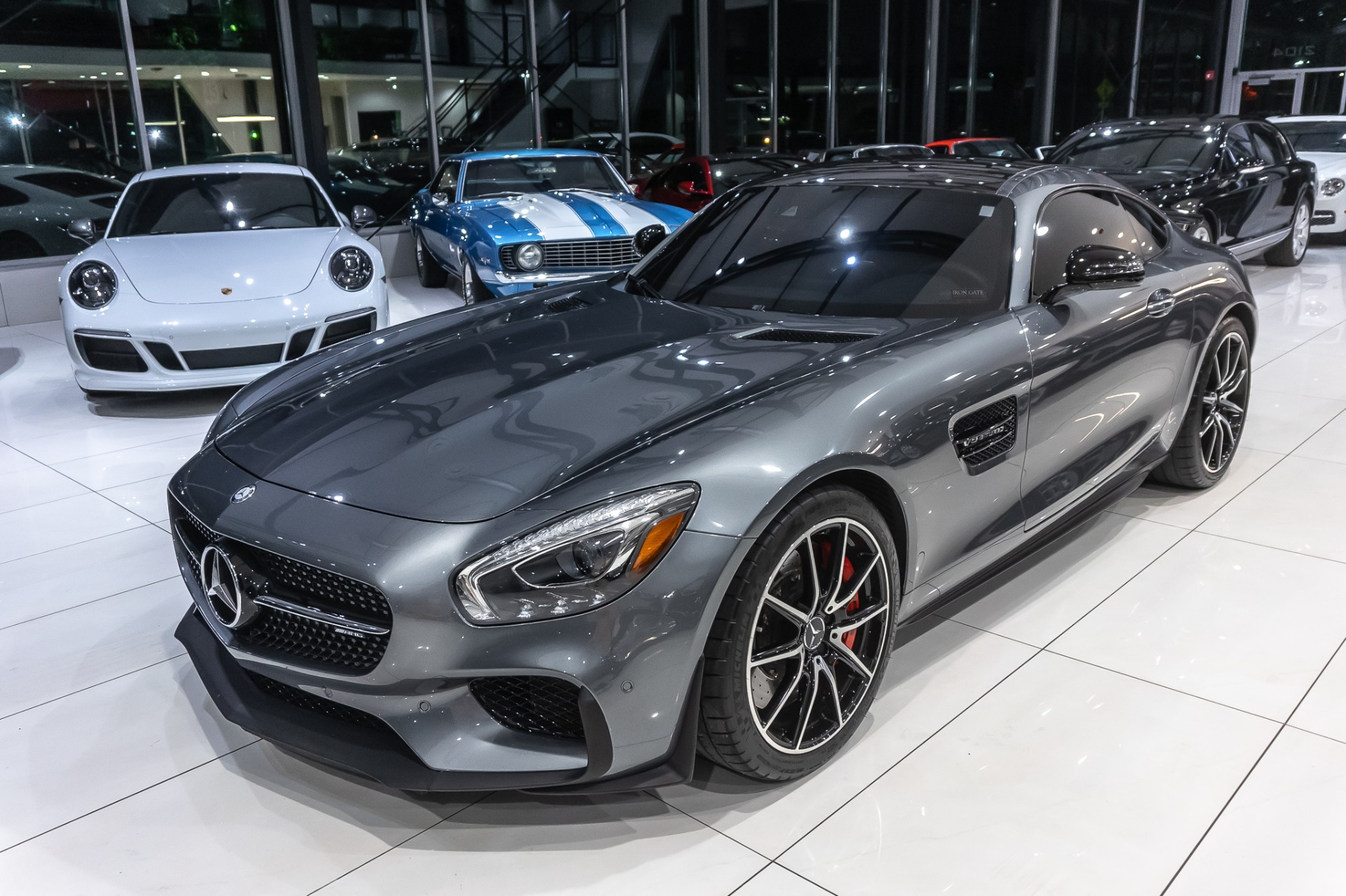 Used 2016 Mercedes-Benz AMG GTS Coupe EDITION 1! For Sale ...