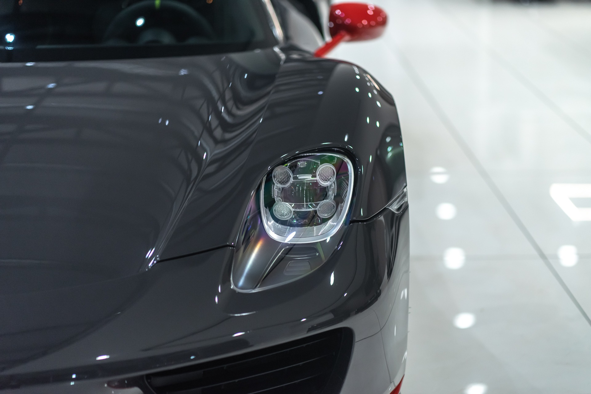 Used-2015-Porsche-918-Spyder-Weissach-PTS-Grey-Black-RARE-1-of-1