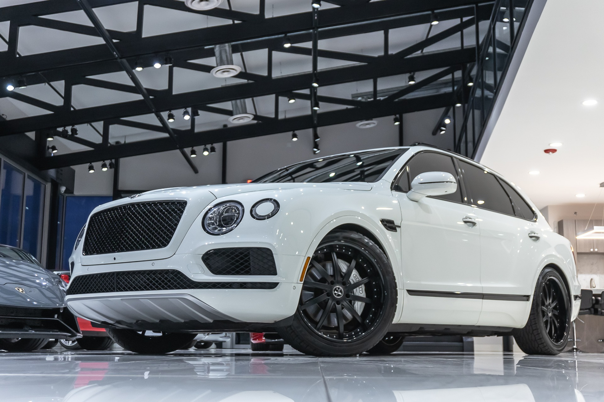 Used 2017 Bentley Bentayga W12 Suv Msrp 243k Loaded Serviced Upgraded 13k Wheels For Sale Special Pricing Chicago Motor Cars Stock 16088a